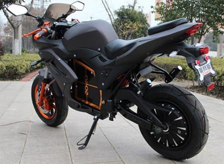 Электромотоцикл Electrowin EM-124 черный, фото 4