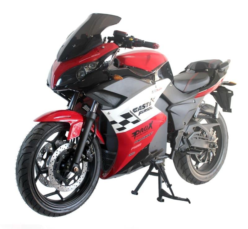 Электромотоцикл Electrowin EM-123 красный. Купить в Киеве