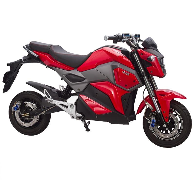 Красный электромотоцикл Electrowin EM-125. Купить в Киеве