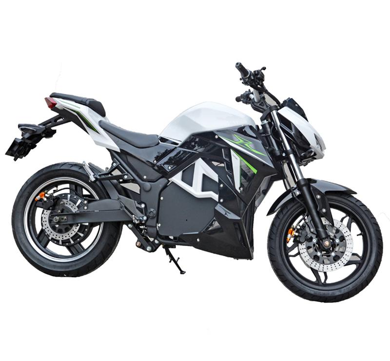 Черно-серый электромотоцикл Electrowin EM-130
