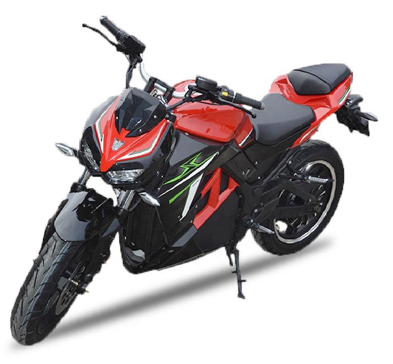 Черно-красный электромотоцикл Electrowin EM-130