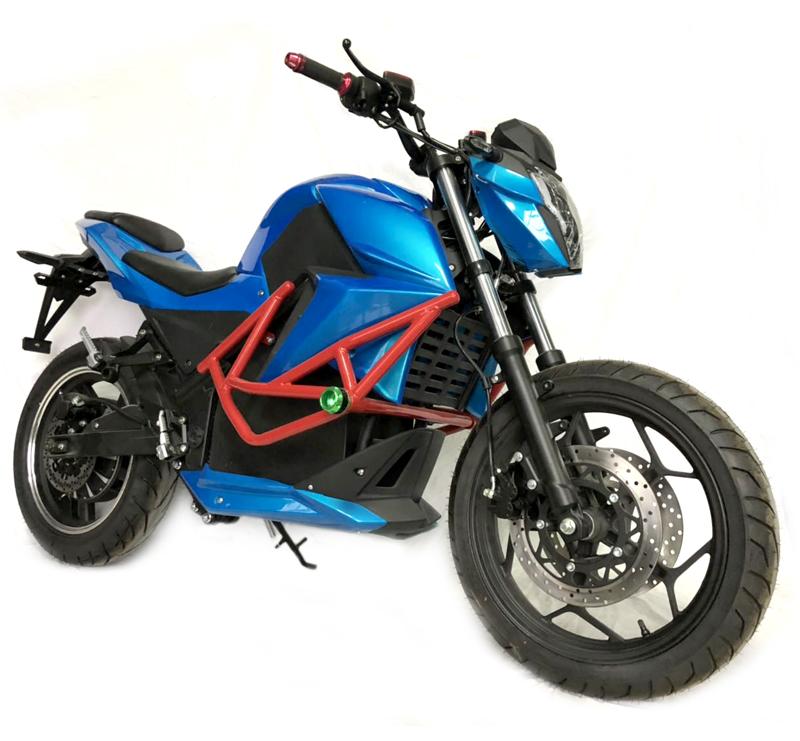 Электромотоцикл Electrowin EM-135, синий
