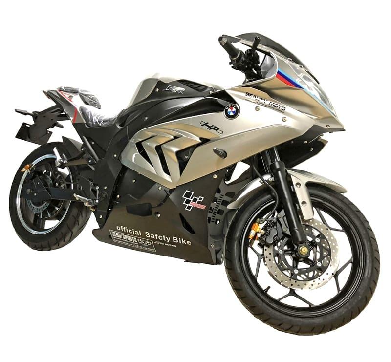 Электромотоцикл Electrowin EM-BM. Цвет платиновый металлик