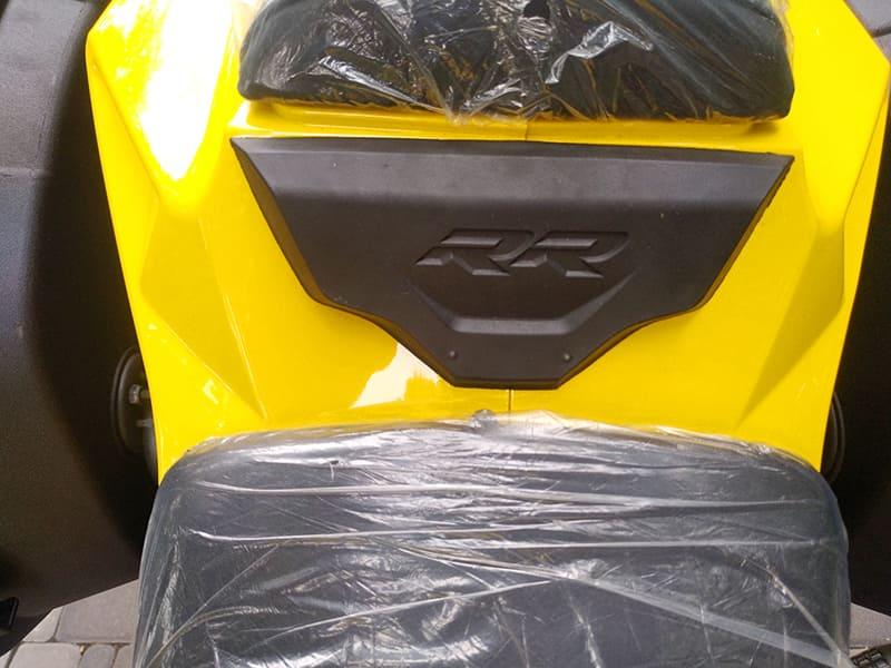 Разделитель переднего и заднего сидений желтого Electrowin EM-BM