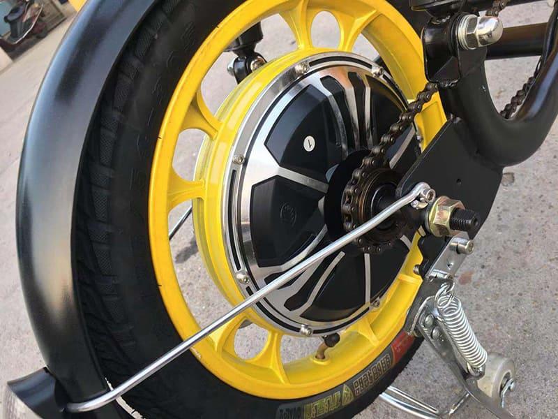 Заднее мотор-колесо электроскутера для доставки Electrowin Delivery