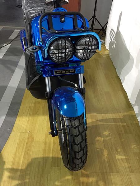 Электроскутер Electrowin ZUMA, синий, фото 2