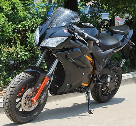 Электромотоцикл Electrowin EM-124 черный