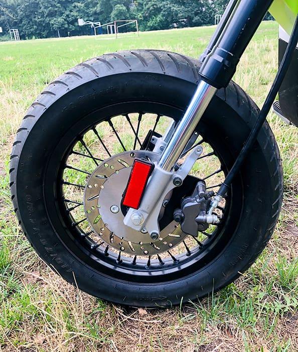 Переднее колесо кроссового электромотоцикла Electrowin EMB-188