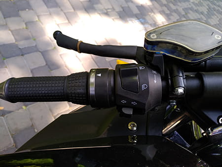 Электромотоцикл Electrowin EM-122, элемент, фото 8