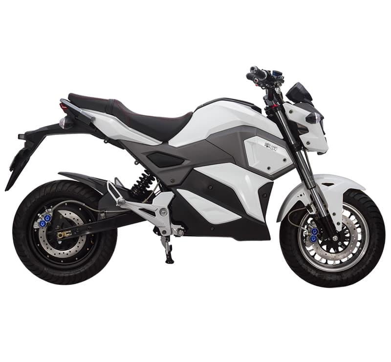 Электромотоцикл Electrowin EM-125, белый