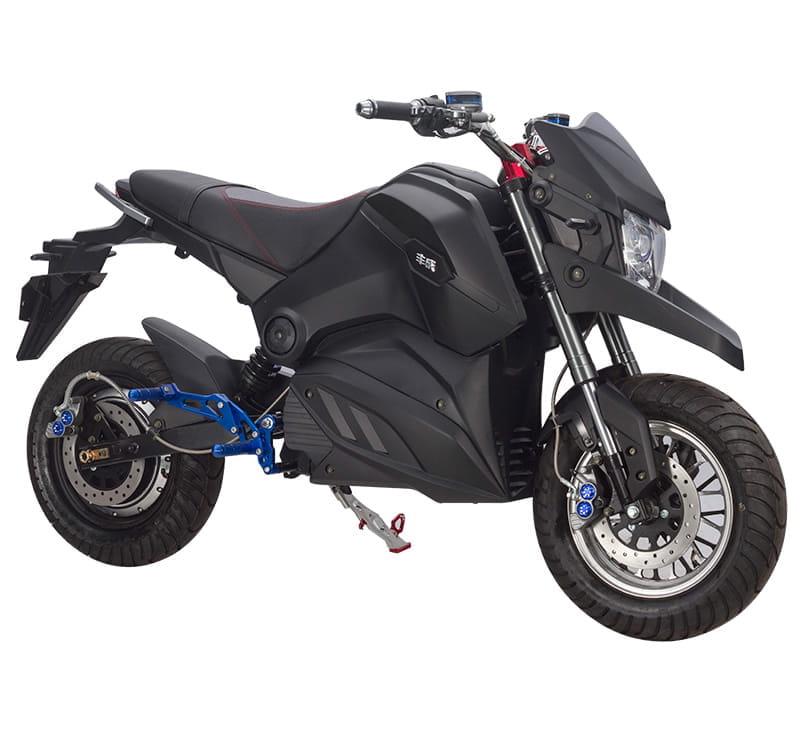 Электромотоцикл Electrowin EM-126 черный