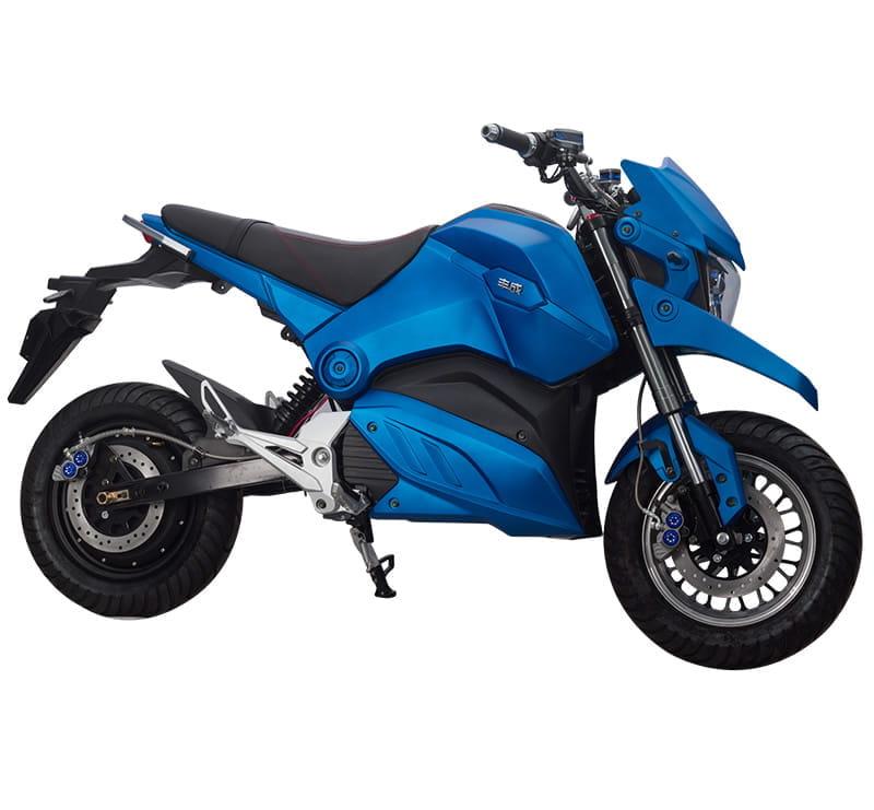 Электромотоцикл Electrowin EM-126 синий