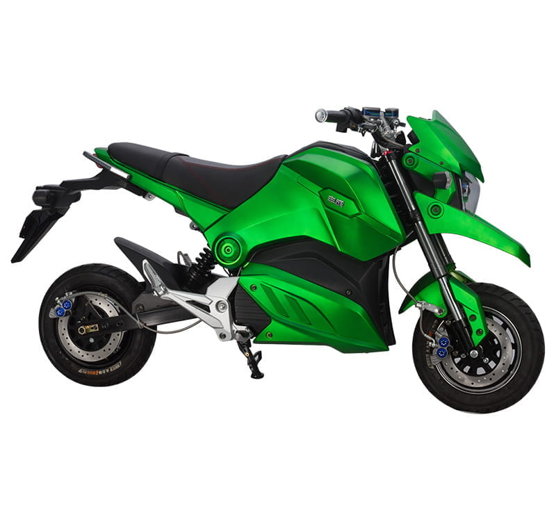 Электромотоцикл Electrowin EM-126 зеленый