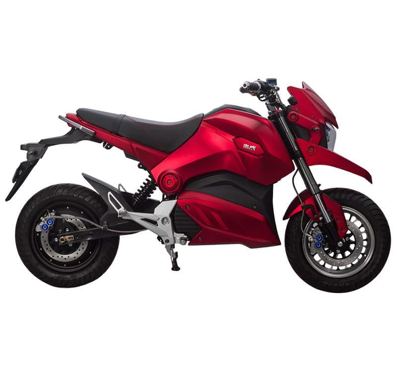 Электромотоцикл Electrowin EM-126 красный