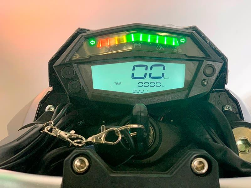 Электромотоцикл Electrowin EM-130