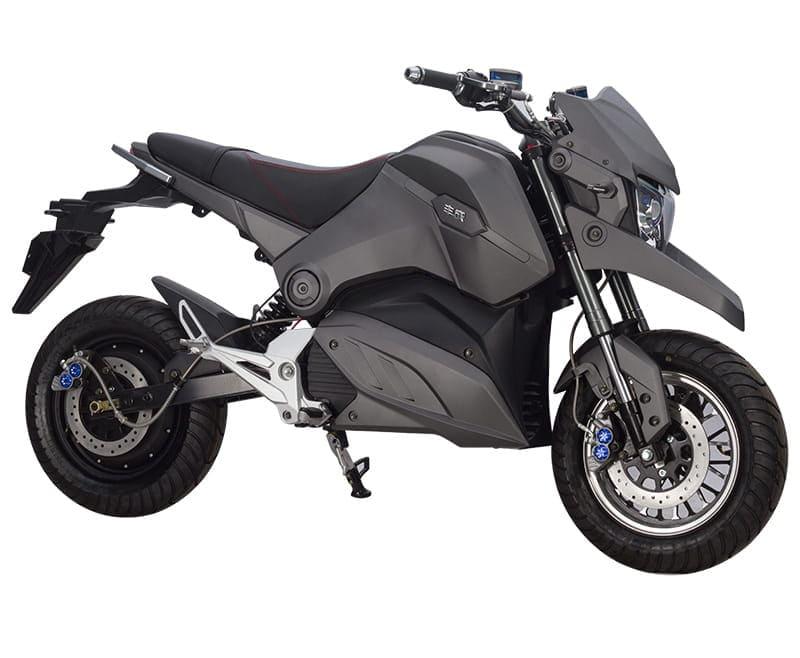 Электромотоцикл Electrowin EM-126, серый