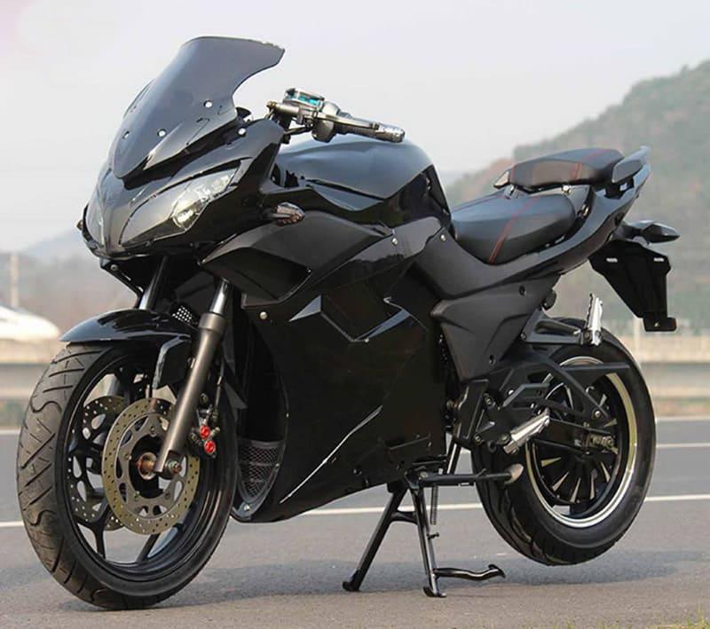 Электромотоцикл Electrowin EM-123 черный