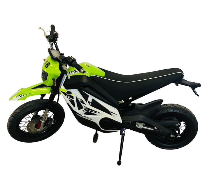 Салатовый электромотоцикл Electrowin EMB-188