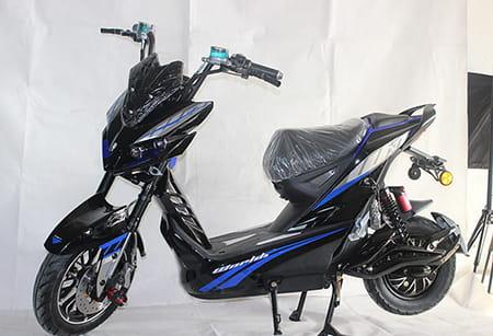 Электроскутер Electrowin EM-2250. Сине-черный