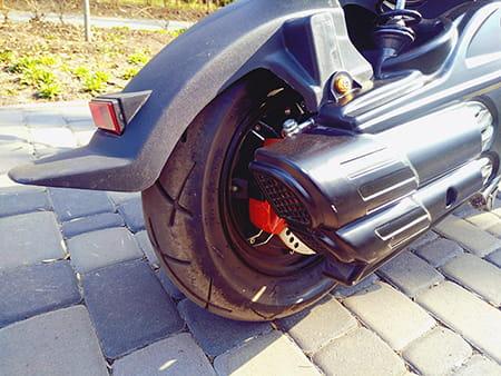 Electrowin ZUMA, заднее колесо с электродвигателем