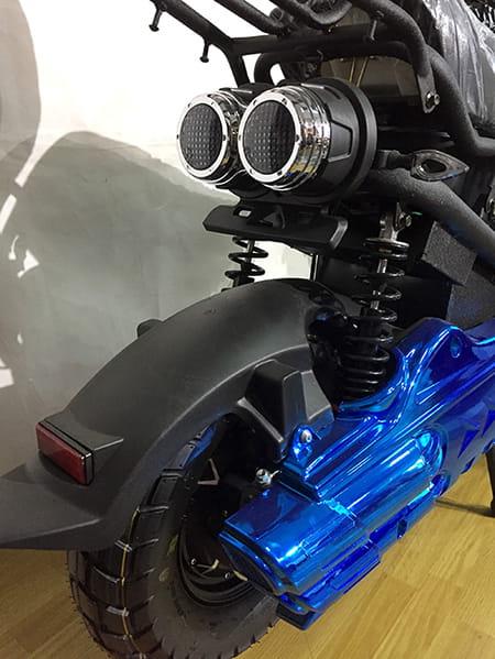 Электроскутер Electrowin ZUMA, синий, фото 6