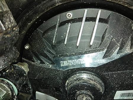 Электроскутер Electrowin EM-2160, бежевый. Фото элемента 6