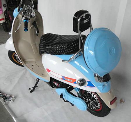 Электроскутер Electrowin EM-2160, голубой. Фото 3