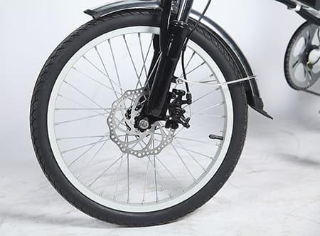 Электровелосипед Electrowin EFB-121. Фото 4