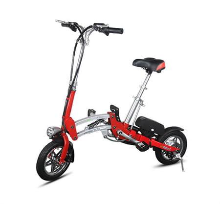 Электровелосипед Electrowin EB-182-red. Фото 2
