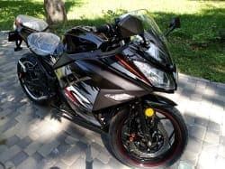 Электромотоцикл Electrowin EM-122, черный, фото 10