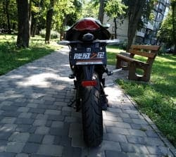 Электромотоцикл Electrowin EM-122, черный, фото 11