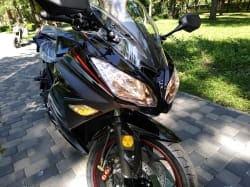 Электромотоцикл Electrowin EM-122, черный, фото 12