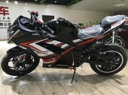 Электромотоцикл Electrowin EM-122, черный, фото 3
