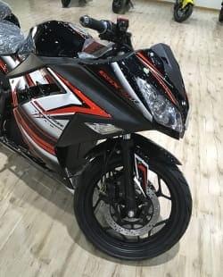 Электромотоцикл Electrowin EM-122, черный, фото 4