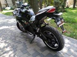 Электромотоцикл Electrowin EM-122, черный, фото 7