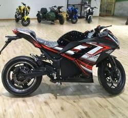 Электромотоцикл Electrowin EM-122, черный, фото 1