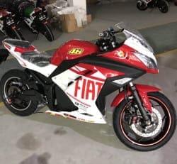 Электромотоцикл Electrowin EM-122, красный, фото