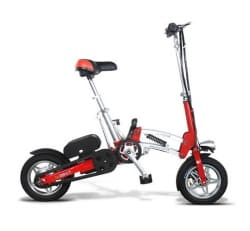 Электровелосипед Electrowin EB-182-red. Фото 1