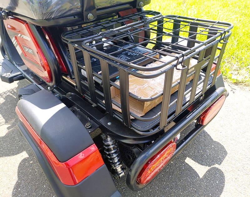 Задний багажник электротрицикла Electrowin ETB-122
